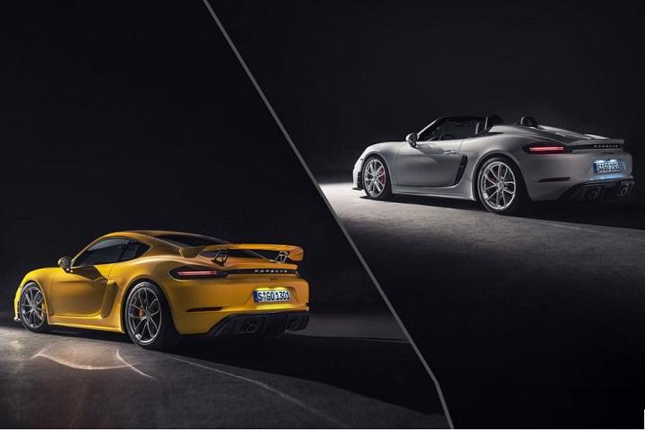 Porsche 718 Spyder & Cayman GT4