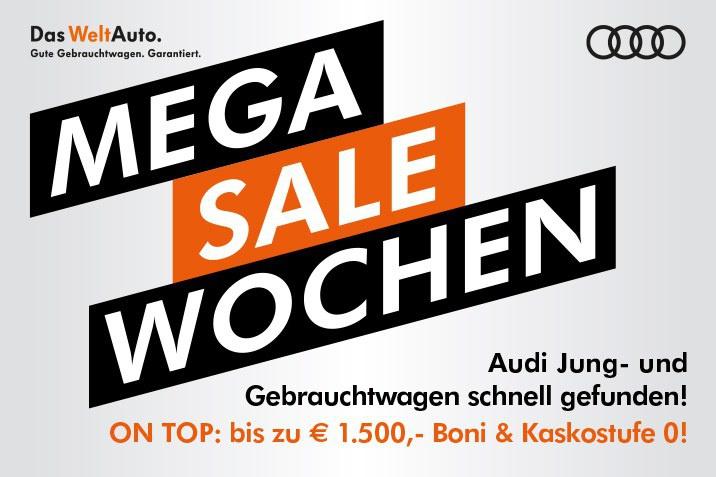 Mega Sale Wochen bei Das WeltAuto
