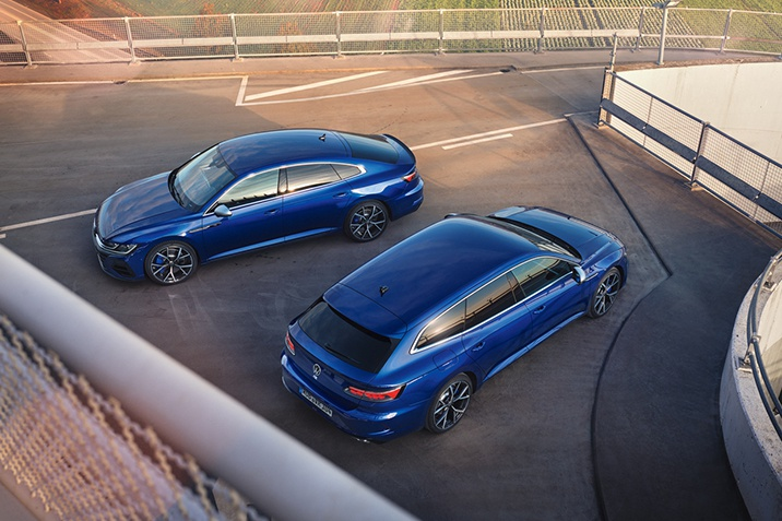 VW Arteon R und VW Arteon R Shooting Break