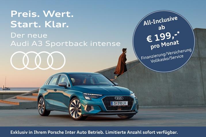 Audi A3 Sportback intense