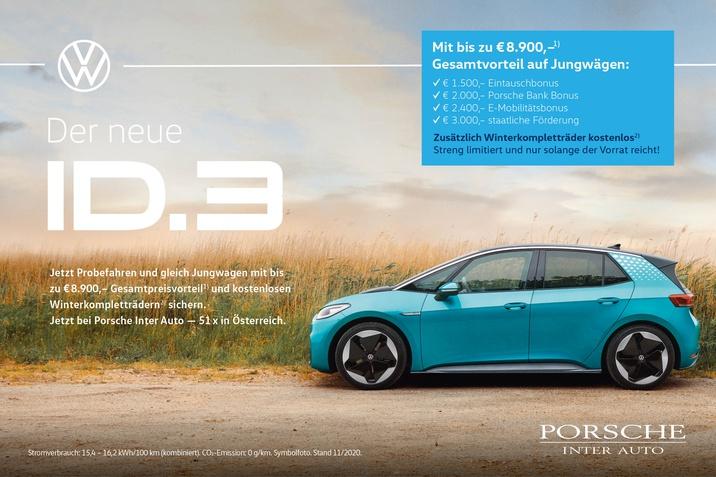 VW ID.3 Aktion